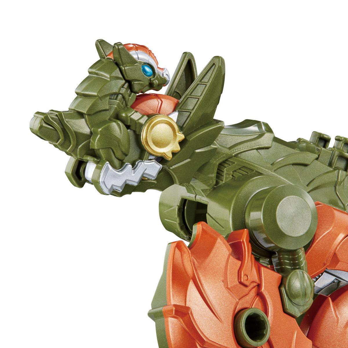 騎士竜戦隊リュウソウジャー『騎士竜シリーズ10 DXパキガルー』可変可動フィギュア-006