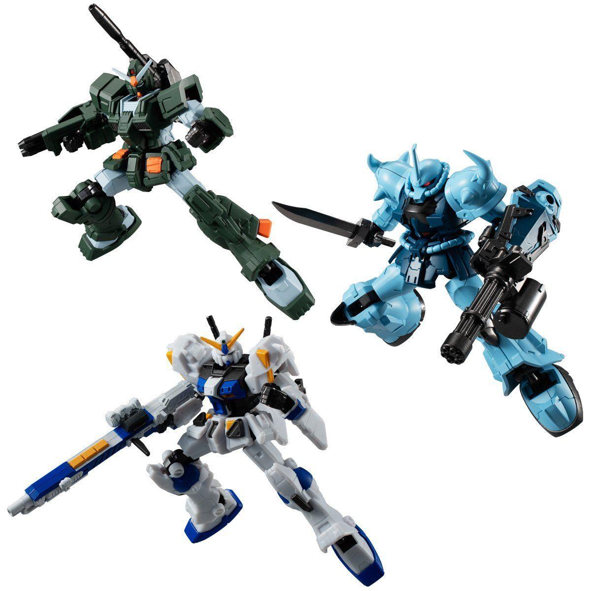 【食玩】機動戦士ガンダム『Gフレーム07』可動フィギュア 10個入りBOX-001