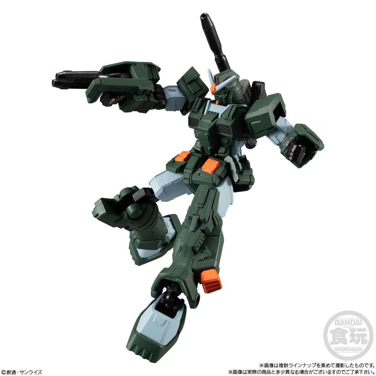 【食玩】機動戦士ガンダム『Gフレーム07』可動フィギュア 10個入りBOX-006