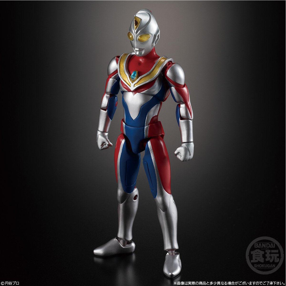【食玩】『超動ウルトラマン5』可動フィギュア 10個入りBOX-003