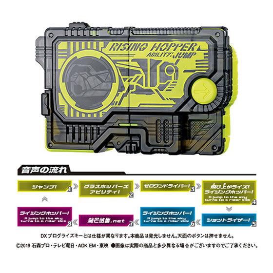 【ガシャポン】サウンドプログライズキーシリーズ『GPプログライズキー01』仮面ライダーゼロワン 変身なりきり-001