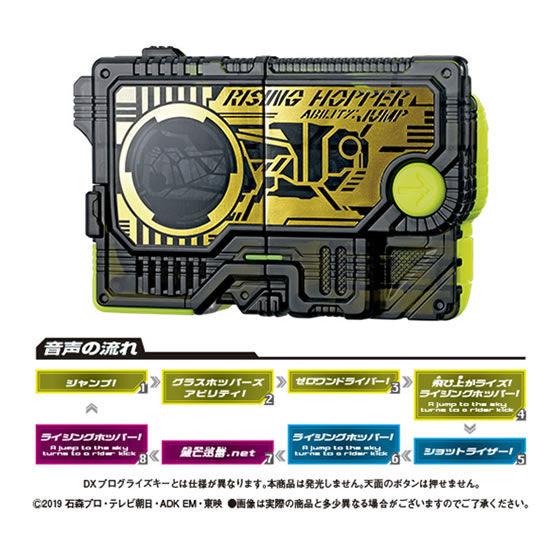 【ガシャポン】サウンドプログライズキーシリーズ『GPプログライズキー01』仮面ライダーゼロワン 変身なりきり-004