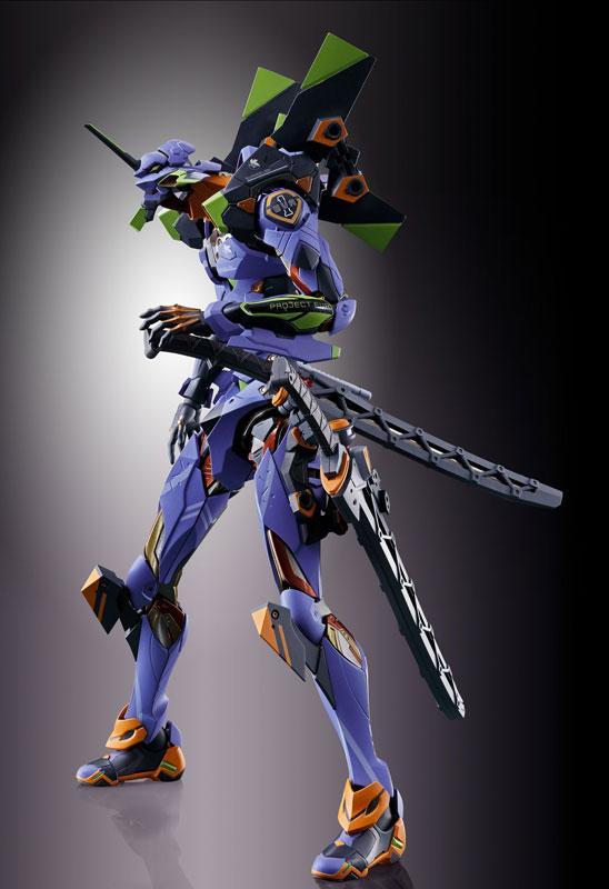 【再販】METAL BUILD『エヴァンゲリオン初号機』新世紀エヴァンゲリオン アクションフィギュア-009