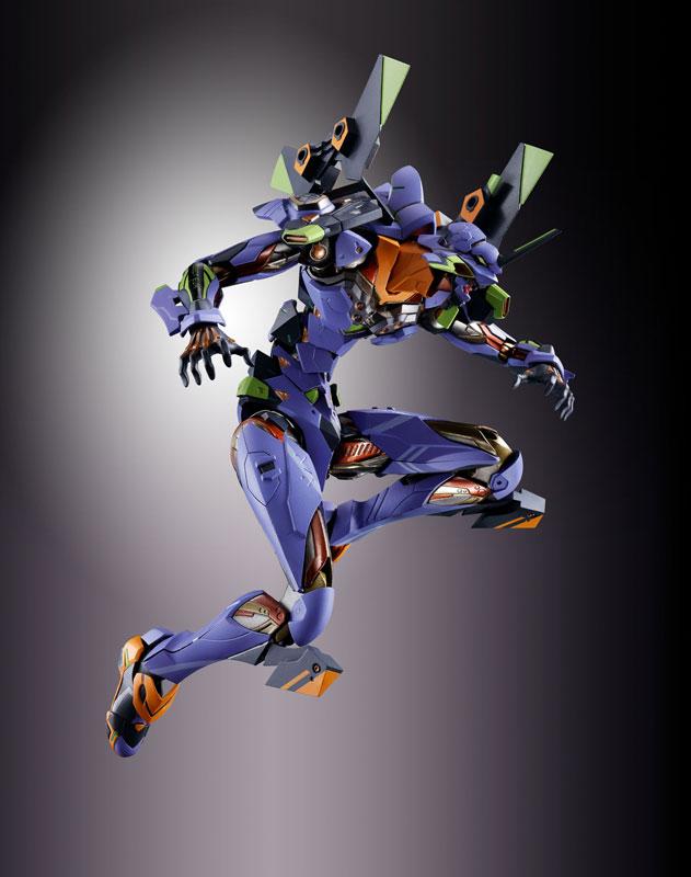 【再販】METAL BUILD『エヴァンゲリオン初号機』新世紀エヴァンゲリオン アクションフィギュア-012
