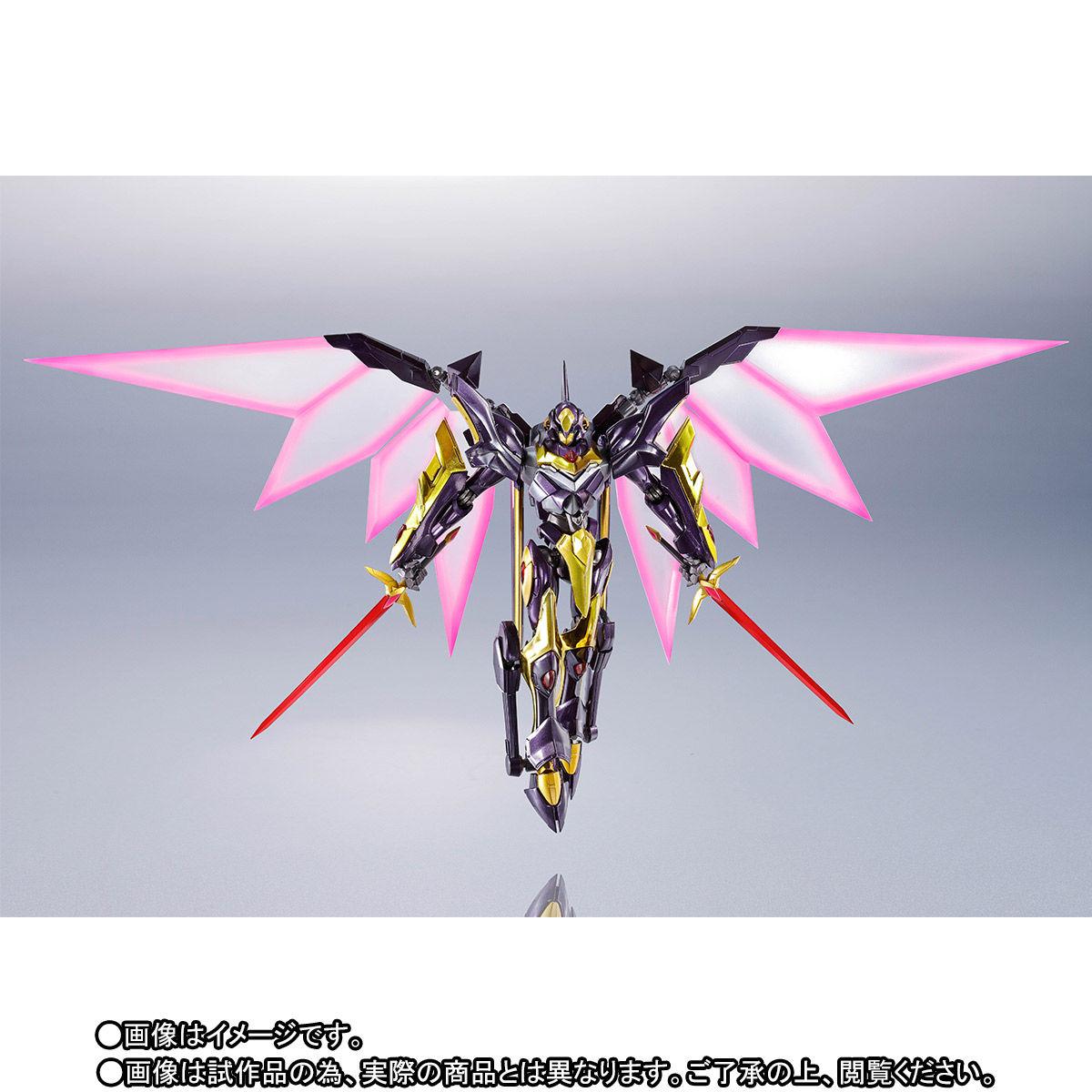 【先着販売】METAL ROBOT魂〈SIDE KMF〉『ランスロット・アルビオン ゼロ』コードギアス 可動フィギュア