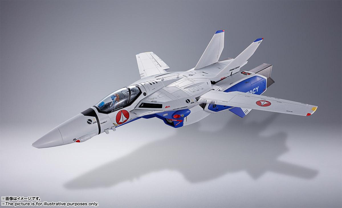 DX超合金『VF-1A バルキリー(マクシミリアン・ジーナス機)』超時空要塞マクロス 可変可動フィギュア-002