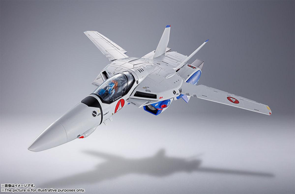 DX超合金『VF-1A バルキリー(マクシミリアン・ジーナス機)』超時空要塞マクロス 可変可動フィギュア-003