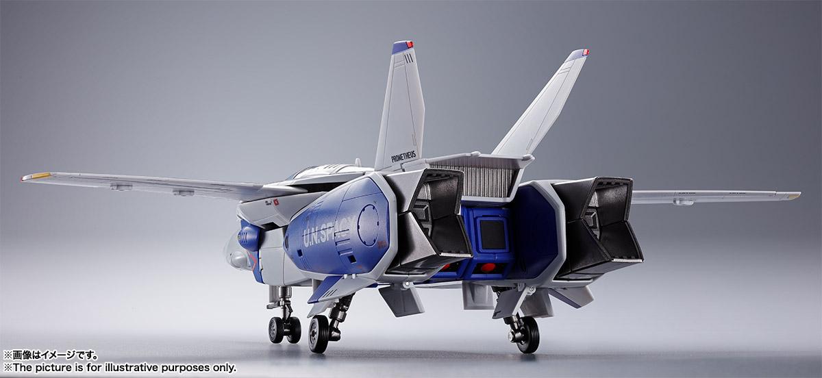 DX超合金『VF-1A バルキリー(マクシミリアン・ジーナス機)』超時空要塞マクロス 可変可動フィギュア-004