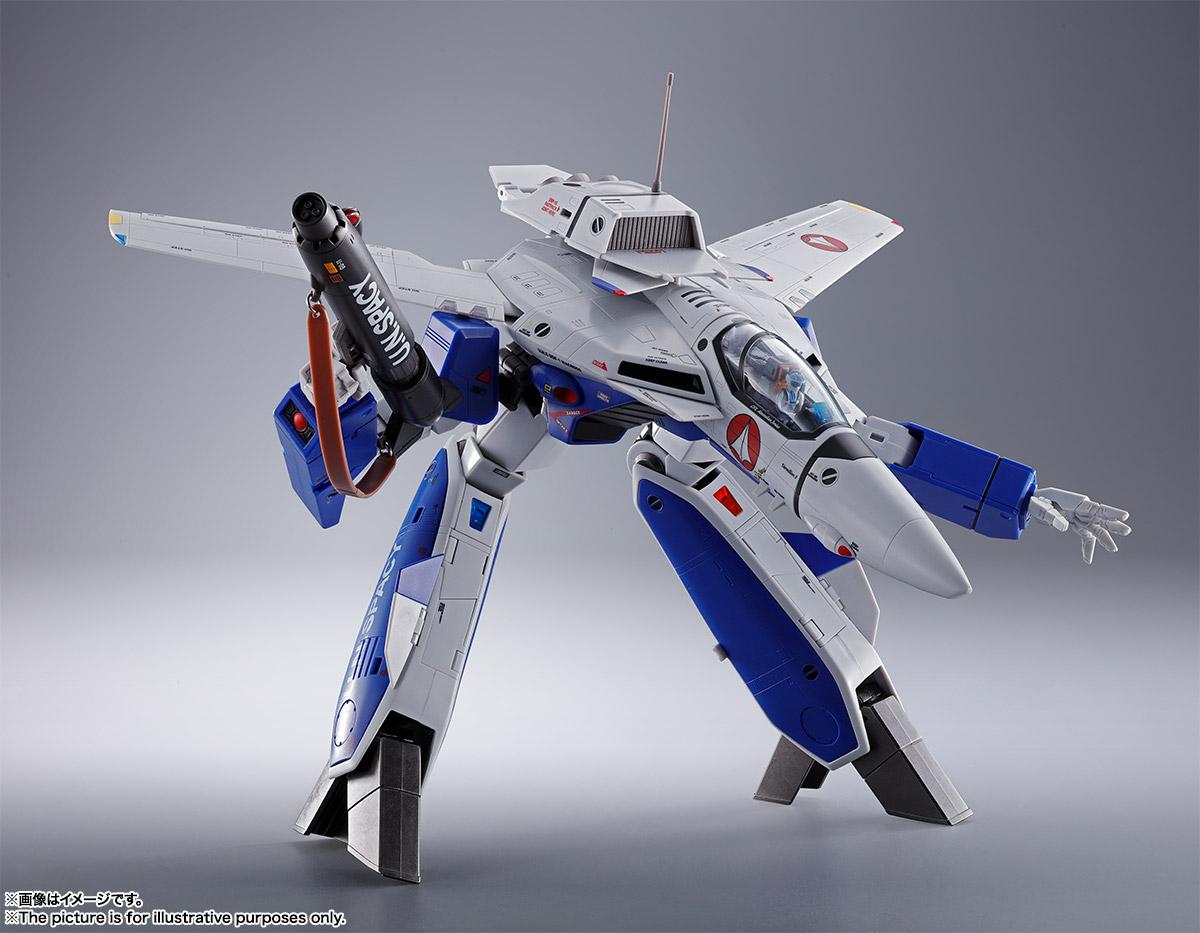 DX超合金『VF-1A バルキリー(マクシミリアン・ジーナス機)』超時空要塞マクロス 可変可動フィギュア-007
