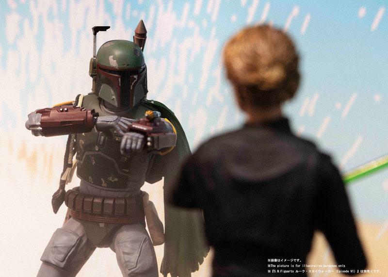 S.H.Figuarts『ボバ・フェット(STAR WARS:Episode VI - Return of the Jedi)』スター・ウォーズ アクションフィギュア-008