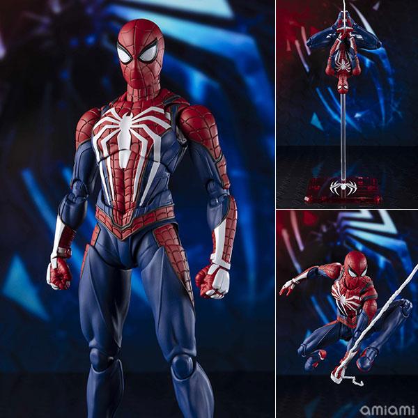 S.H.Figuarts『スパイダーマン アドバンスド・スーツ』Marvel's Spider-Man版アクションフィギュア