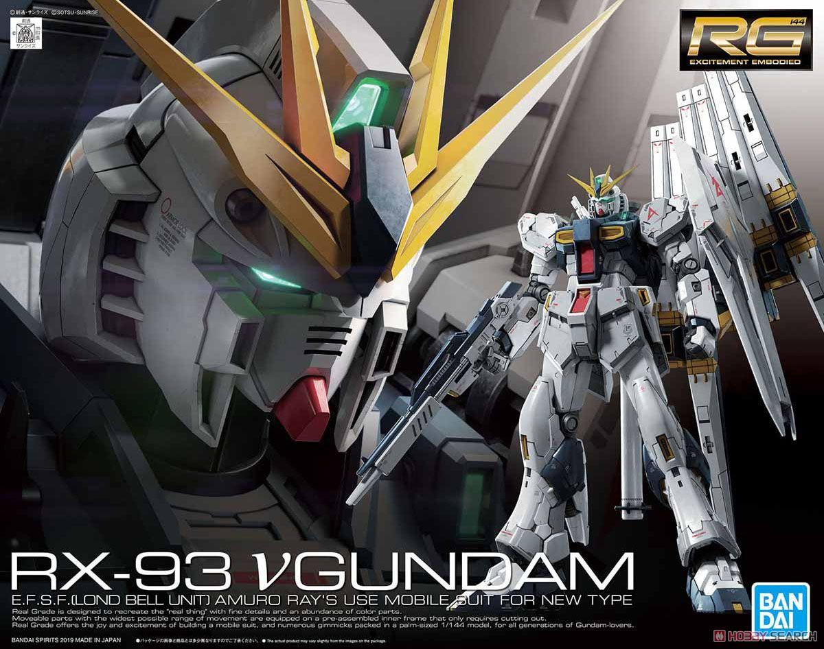 【再販】RG 1/144『νガンダム』逆襲のシャア プラモデル-001