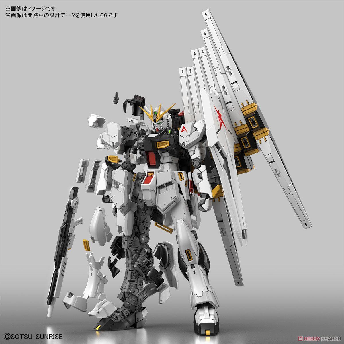 【再販】RG 1/144『νガンダム』逆襲のシャア プラモデル-003
