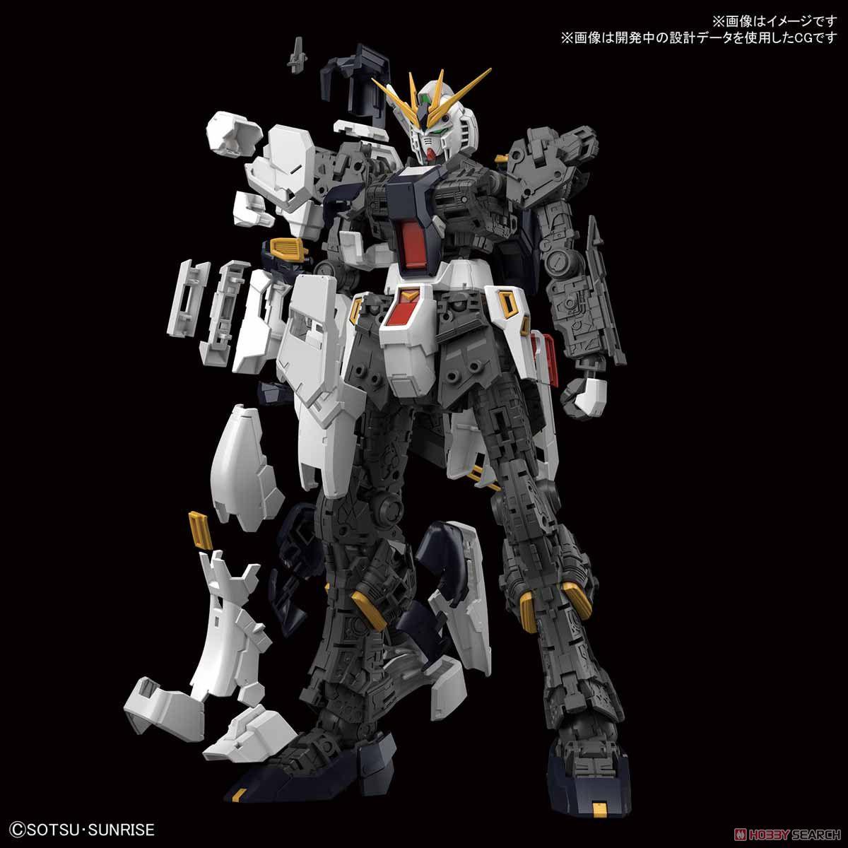 【再販】RG 1/144『νガンダム』逆襲のシャア プラモデル-004