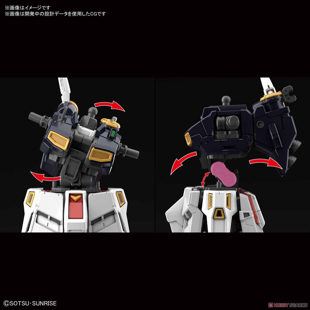 【再販】RG 1/144『νガンダム』逆襲のシャア プラモデル-006