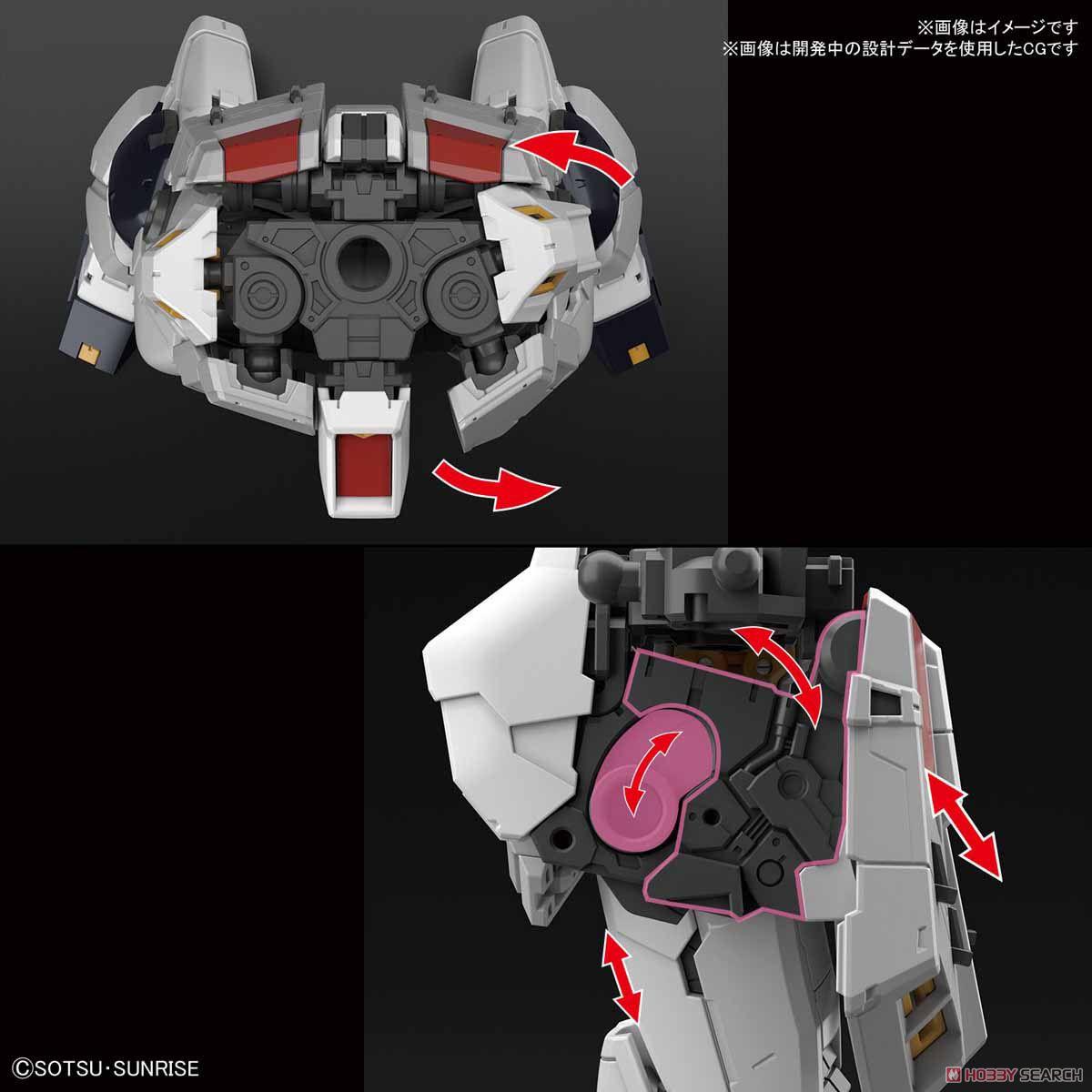 【再販】RG 1/144『νガンダム』逆襲のシャア プラモデル-007
