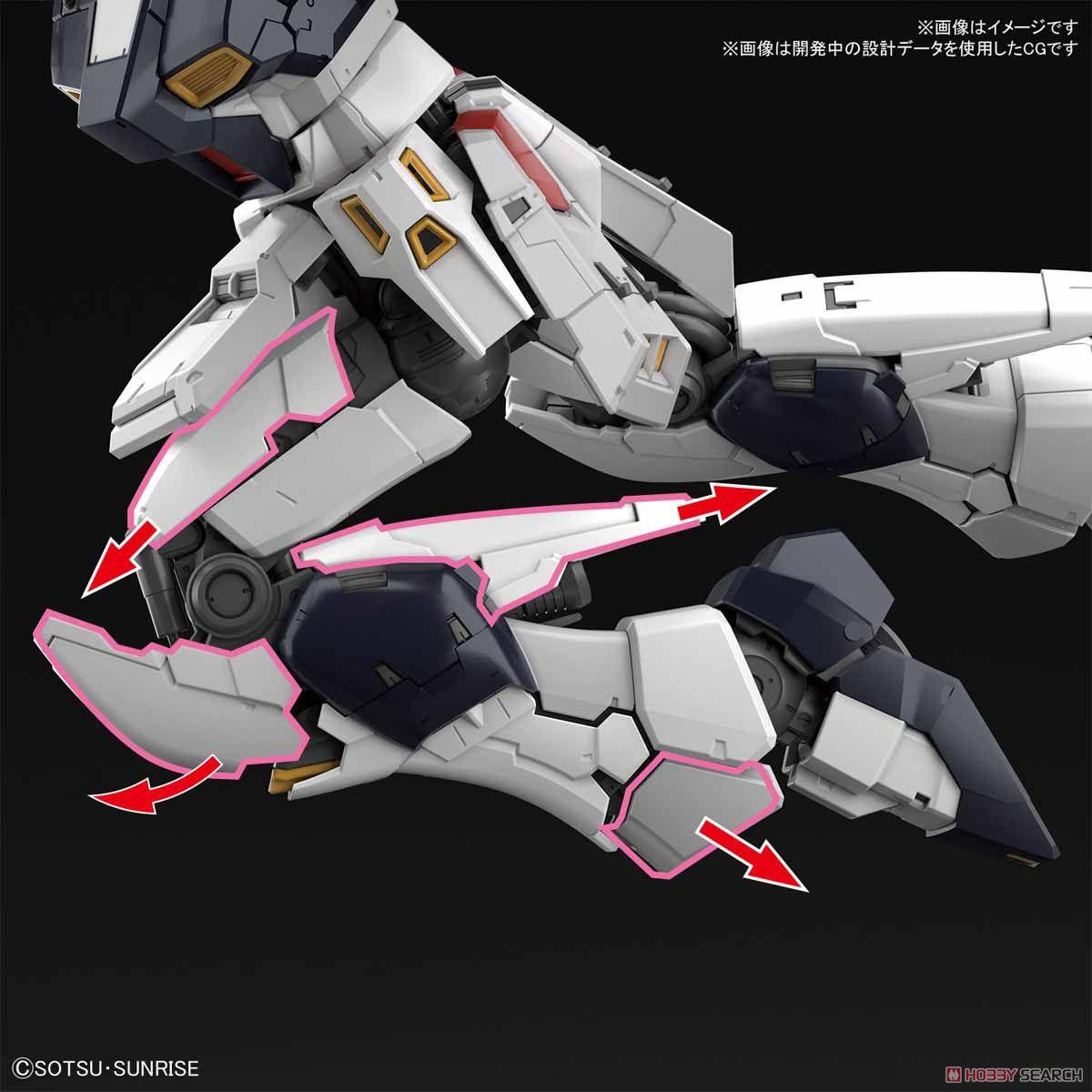 【再販】RG 1/144『νガンダム』逆襲のシャア プラモデル-008