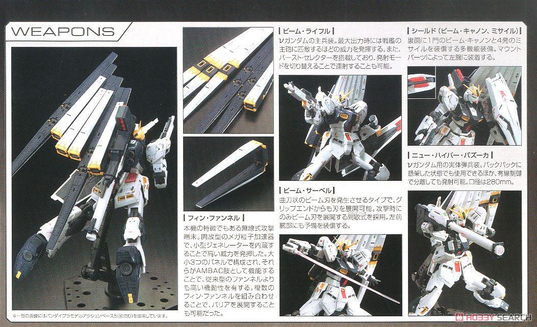 【再販】RG 1/144『νガンダム』逆襲のシャア プラモデル-019