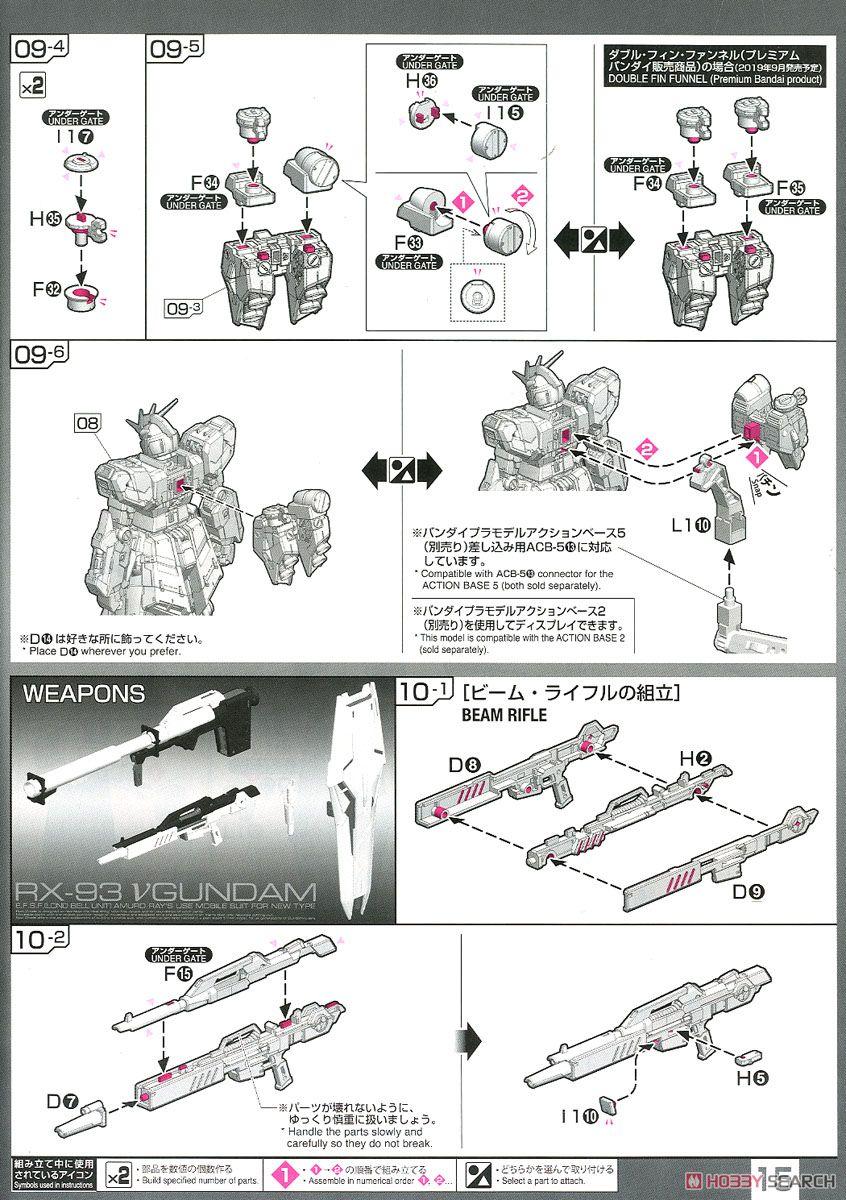 【再販】RG 1/144『νガンダム』逆襲のシャア プラモデル-032