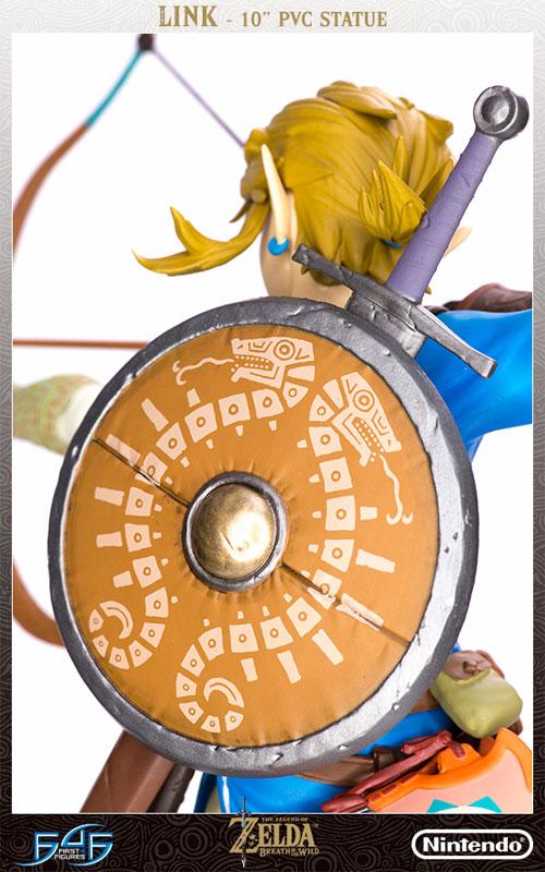 ゼルダの伝説 ブレス オブ ザ ワイルド『リンク』10インチ PVCスタチュー-009