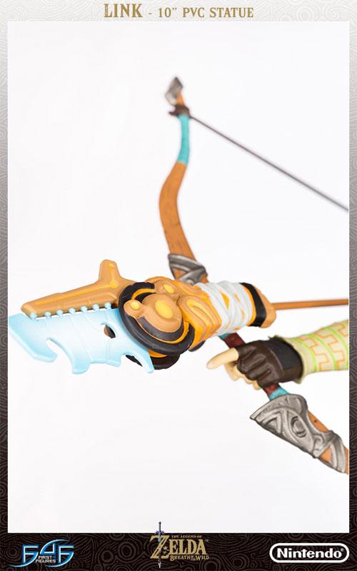 ゼルダの伝説 ブレス オブ ザ ワイルド『リンク』10インチ PVCスタチュー-012