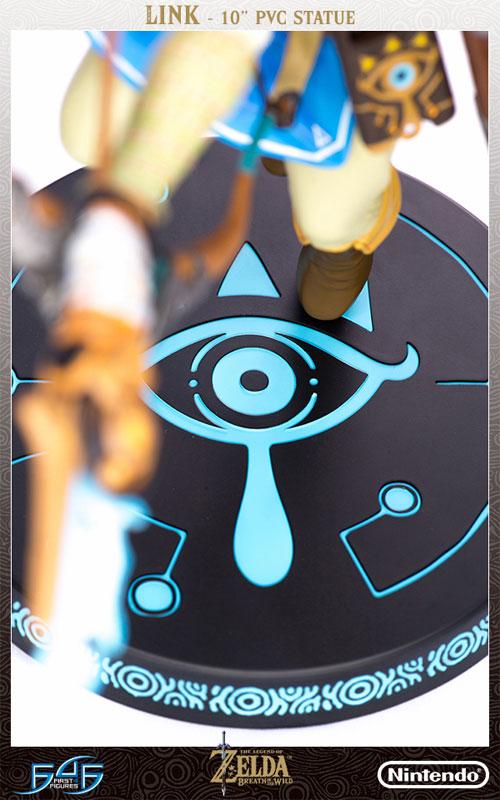 ゼルダの伝説 ブレス オブ ザ ワイルド『リンク』10インチ PVCスタチュー-013