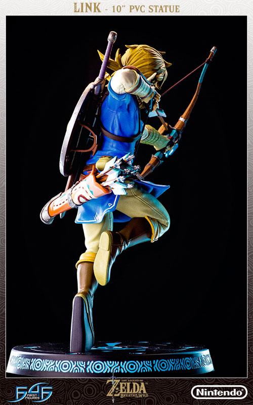 ゼルダの伝説 ブレス オブ ザ ワイルド『リンク』10インチ PVCスタチュー-015