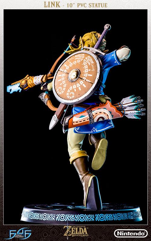ゼルダの伝説 ブレス オブ ザ ワイルド『リンク』10インチ PVCスタチュー-016