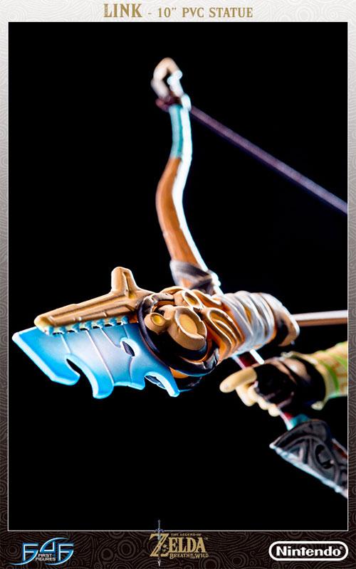 ゼルダの伝説 ブレス オブ ザ ワイルド『リンク』10インチ PVCスタチュー-021
