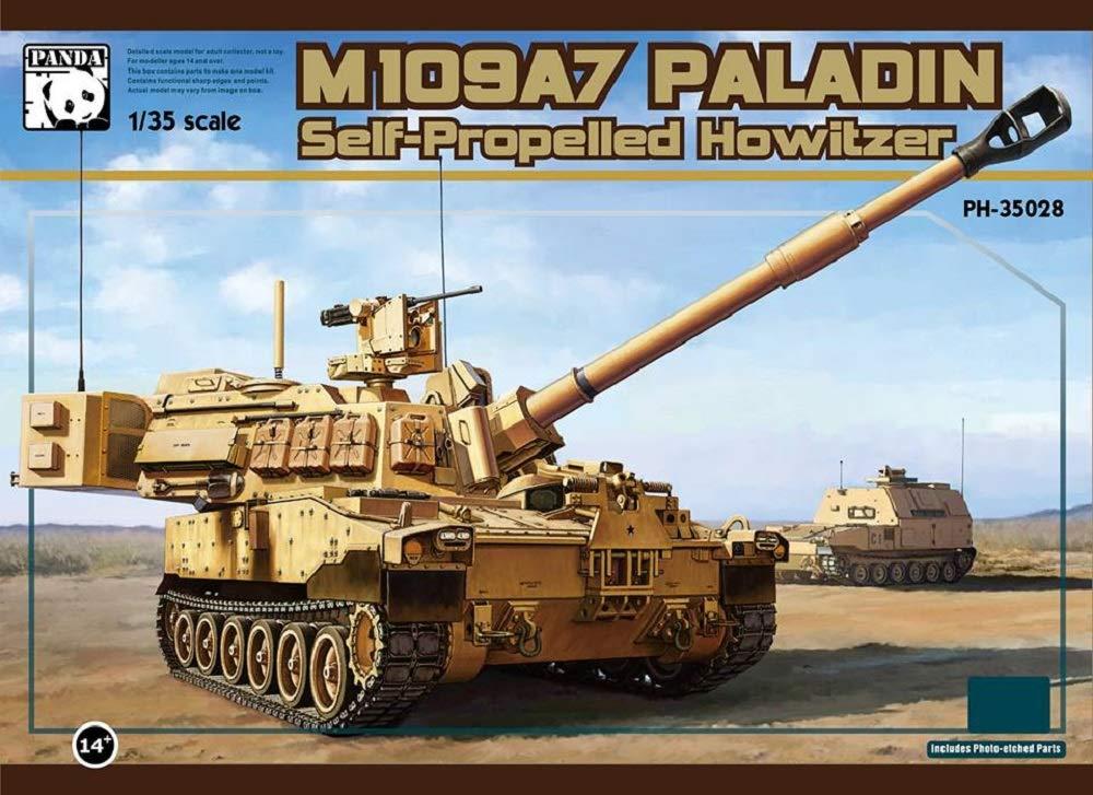 1/35『M109A7 自走榴弾砲w/金属履帯 &フィギュア1体』プラモデル-001