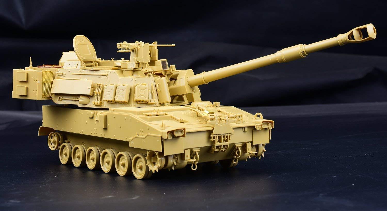 1/35『M109A7 自走榴弾砲w/金属履帯 &フィギュア1体』プラモデル-002