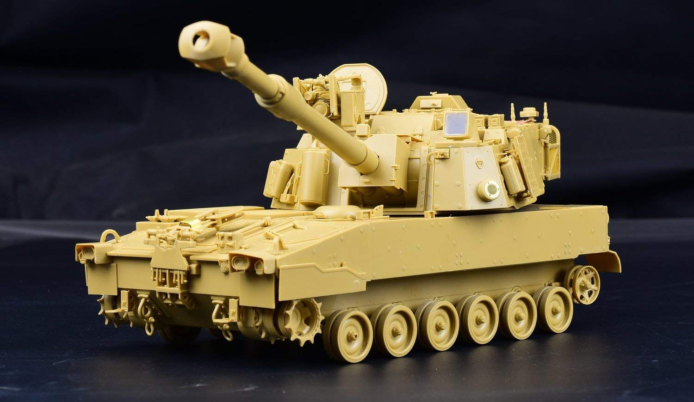 1/35『M109A7 自走榴弾砲w/金属履帯 &フィギュア1体』プラモデル-003