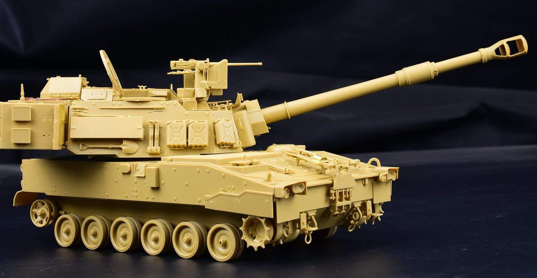 1/35『M109A7 自走榴弾砲w/金属履帯 &フィギュア1体』プラモデル-004