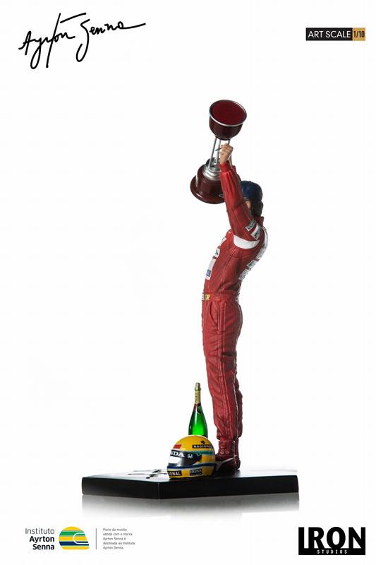 『アイルトン・セナ 1988 日本GP』1/10 アートスケール スタチュー-004