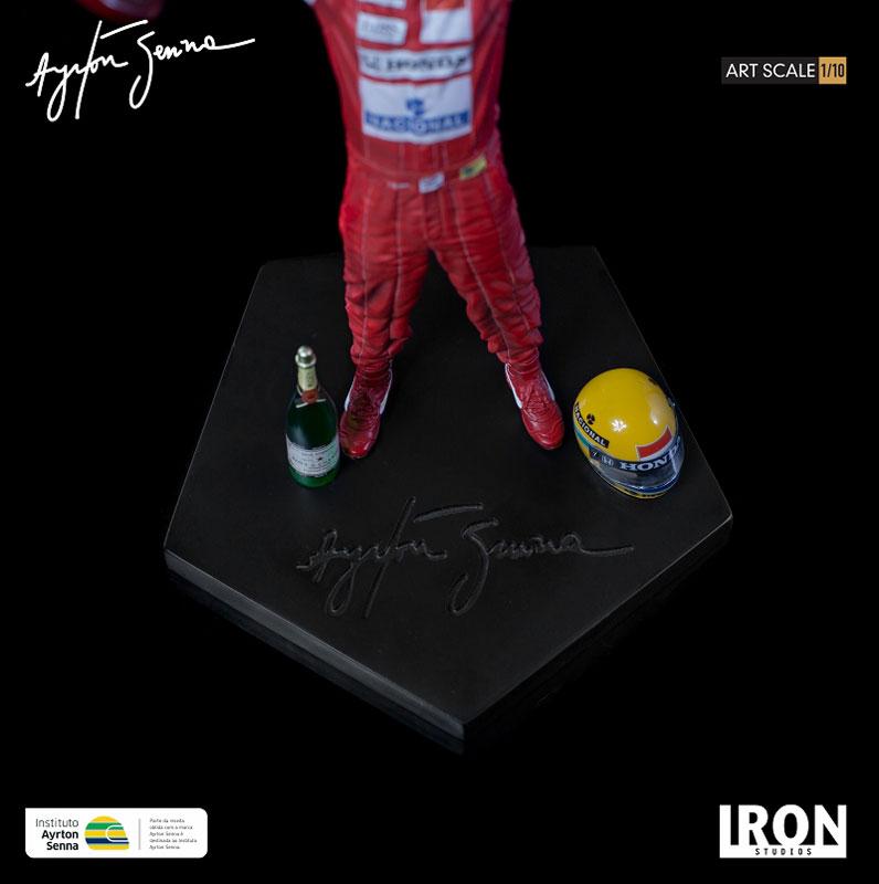 『アイルトン・セナ 1988 日本GP』1/10 アートスケール スタチュー-006