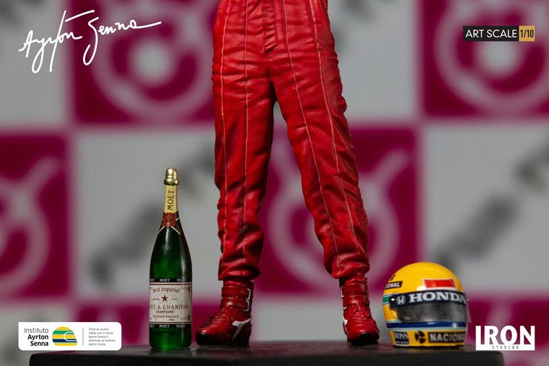 『アイルトン・セナ 1988 日本GP』1/10 アートスケール スタチュー-011