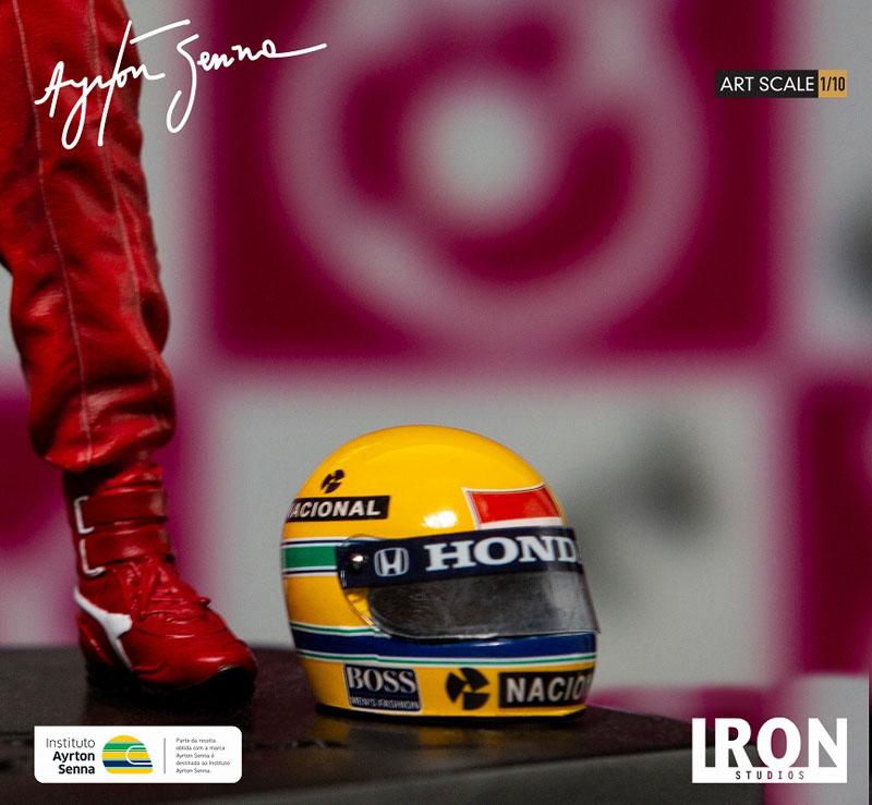 『アイルトン・セナ 1988 日本GP』1/10 アートスケール スタチュー-012
