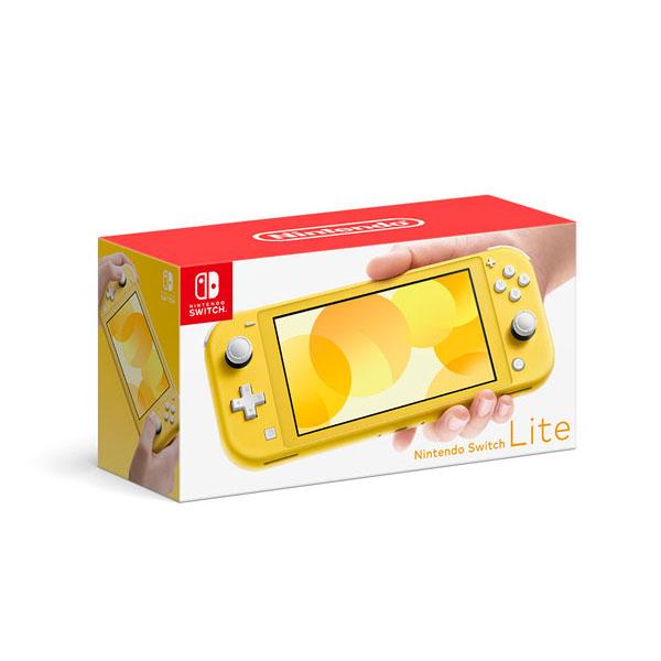 ニンテンドースイッチ ライト『Nintendo Switch Lite イエロー』ゲーム機-001