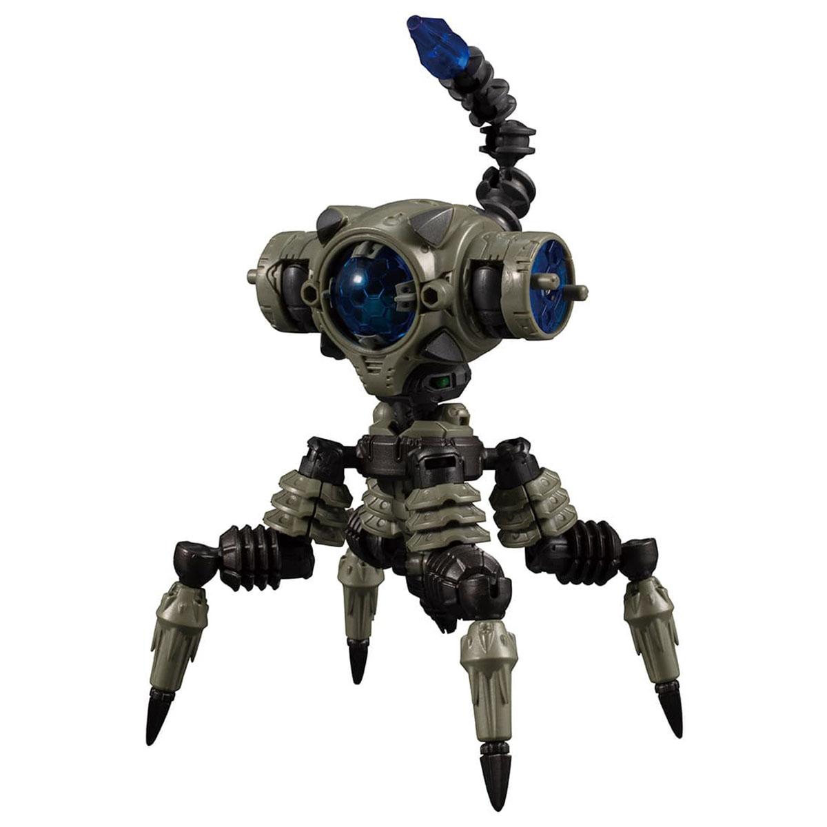 ダイアクロン『DA-38 ワルダレイダー〈バグヘッド〉』可動フィギュア-003