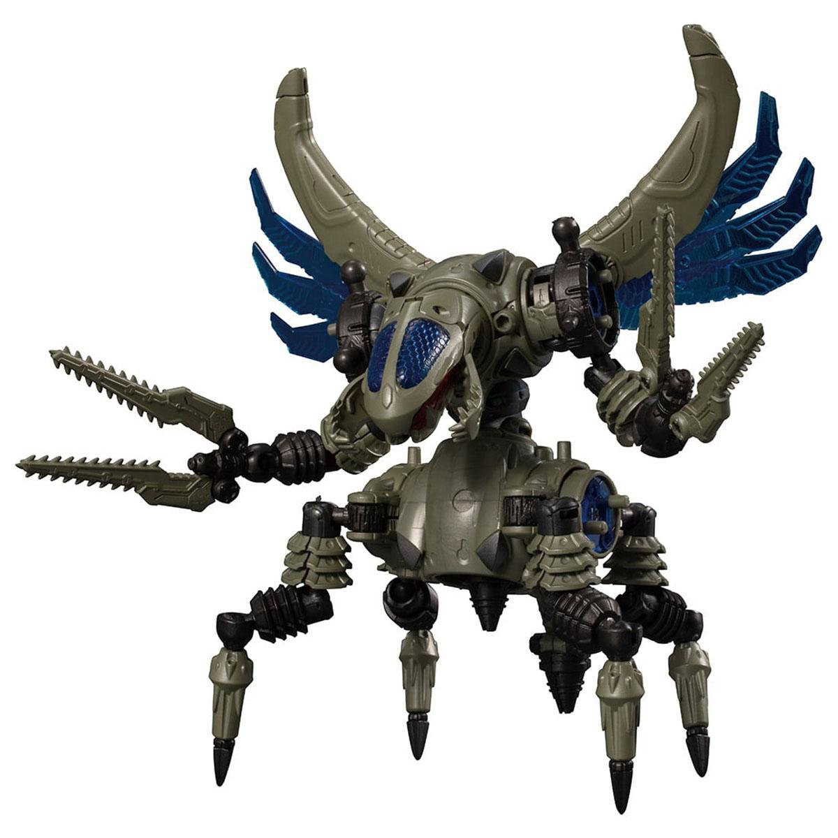 ダイアクロン『DA-38 ワルダレイダー〈バグヘッド〉』可動フィギュア-006