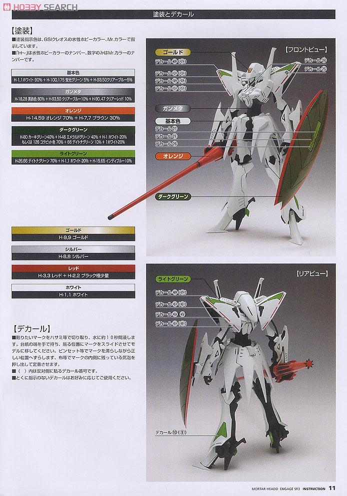 【再販】ファイブスター物語『エンゲージSR3[通常版]』1/144 プラモデル-011