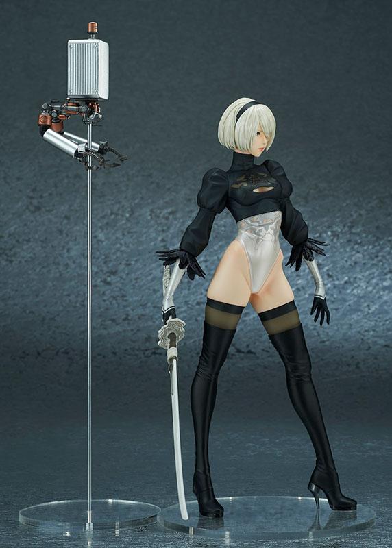 NieR:Automata『2B(ヨルハ二号B型)DX版』 ニーア オートマタ 完成品フィギュア-008