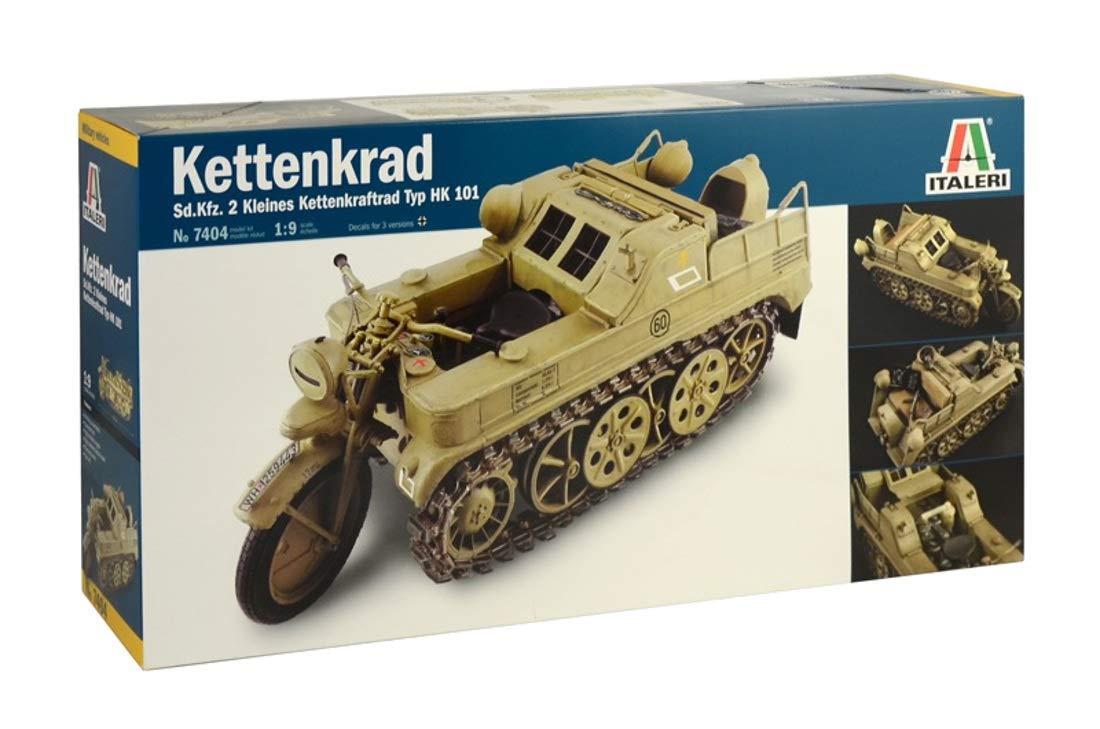 【再販】1/9『WW.II ドイツ軍 ケッテンクラート』プラモデル-001