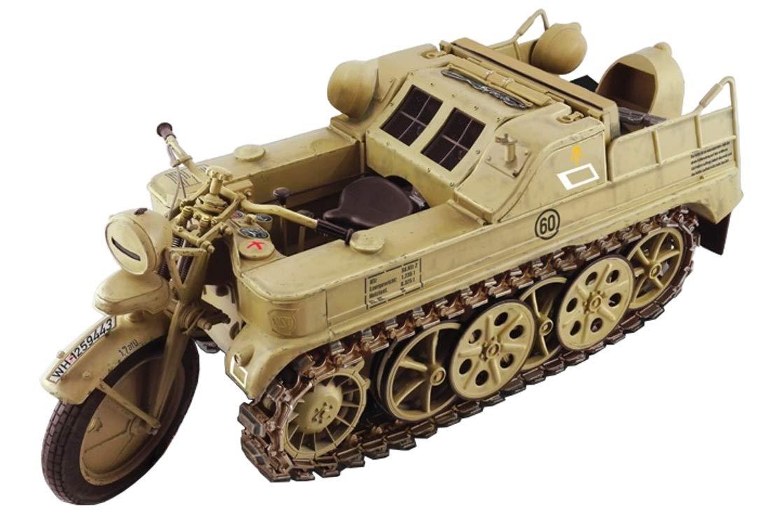 【再販】1/9『WW.II ドイツ軍 ケッテンクラート』プラモデル-002
