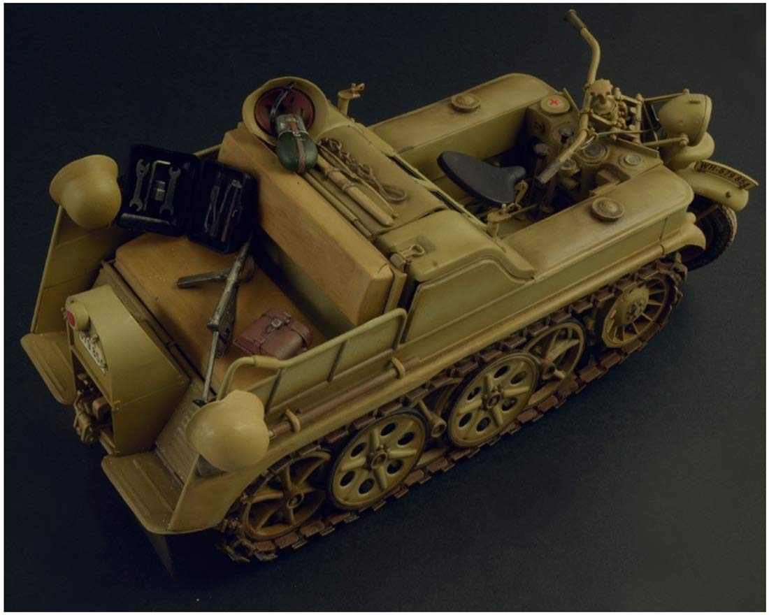 【再販】1/9『WW.II ドイツ軍 ケッテンクラート』プラモデル-003