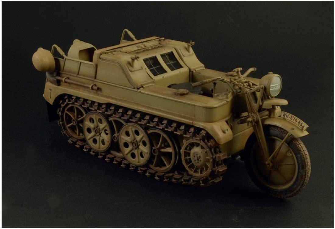【再販】1/9『WW.II ドイツ軍 ケッテンクラート』プラモデル-004