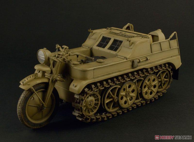 【再販】1/9『WW.II ドイツ軍 ケッテンクラート』プラモデル-005
