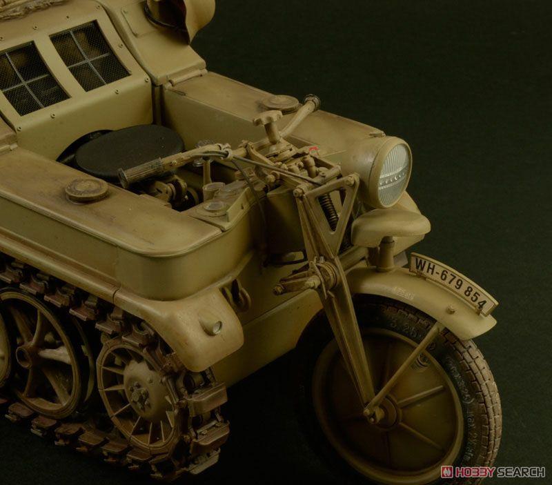 【再販】1/9『WW.II ドイツ軍 ケッテンクラート』プラモデル-006