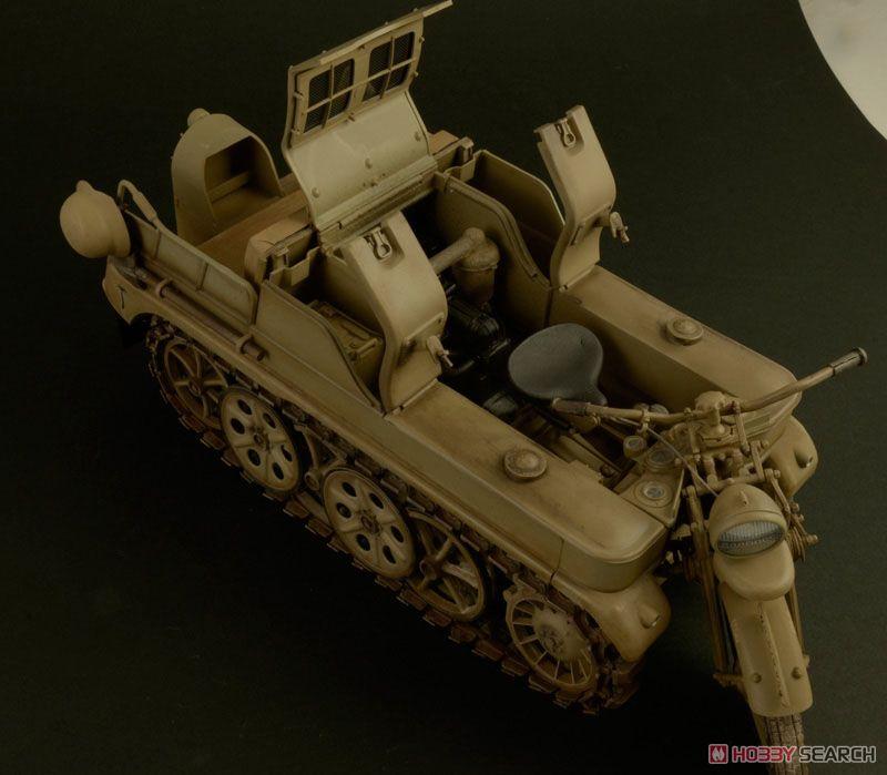 【再販】1/9『WW.II ドイツ軍 ケッテンクラート』プラモデル-007