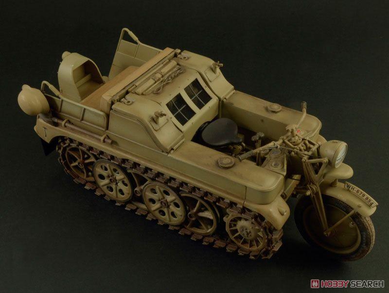 【再販】1/9『WW.II ドイツ軍 ケッテンクラート』プラモデル-009